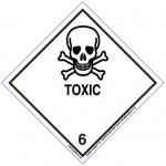 Toxic 6 Label