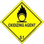 Oxidizing Agent 5.1 Label