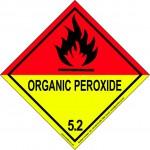 Organic Peroxide 5.2 Label